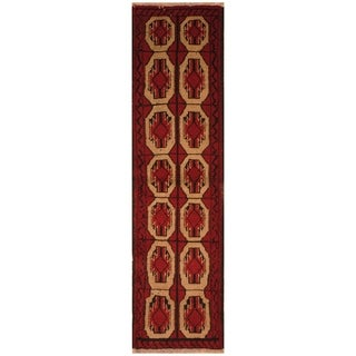 Handmade Balouchi Wool Rug (Iran) - 1'8 x 6'1