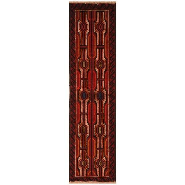 Handmade Khorasan Wool Rug (India) - 4' x 6'4