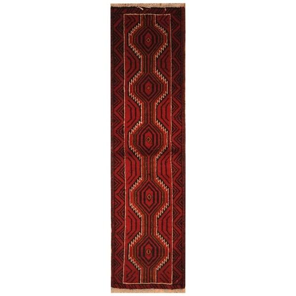 Handmade Khorasan Wool Rug (India) - 6' x 9'