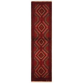 Handmade Khorasan Wool Rug (India) - 4'1 x 6'1