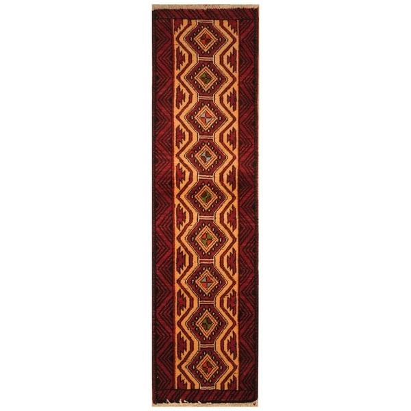 Handmade Khorasan Wool Rug (India) - 13'8 x 23'7