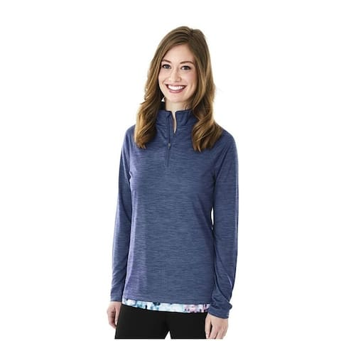 Charles River Moisture Wicking Athletic Pullover, Navy