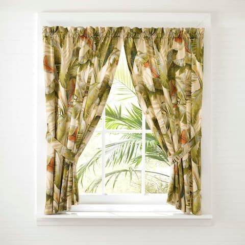 "Tommy Bahama Palmiers 45"" Window Panels - 45""l x 36""w"