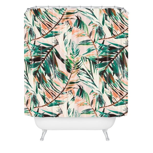 Shop Deny Designs Tropical Shower Curtain 69x72