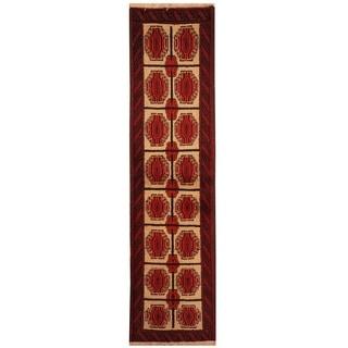 Handmade Balouchi Wool Rug (Iran) - 1'8 x 6'2
