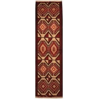 Handmade Balouchi Wool Rug (Iran) - 1'9 x 6'