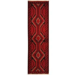 Handmade Tribal Balouchi Wool Rug (Iran) - 1'8 x 5'10