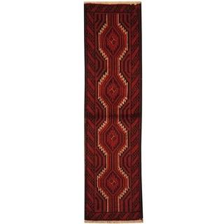 Handmade Balouchi Wool Rug (Iran) - 1'7 x 6'