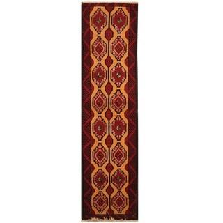 Handmade Balouchi Wool Rug (Iran) - 1'7 x 6'1