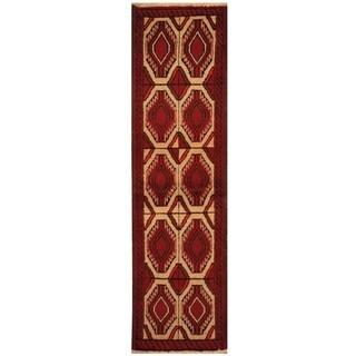 Handmade Balouchi Wool Rug (Iran) - 1'8 x 6'