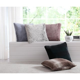 Asher Home Chatham Faux Fur Throw Pillows