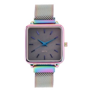 Covet Women's 'Charlotte' Multi Magnetic Mesh Strap Quartz Watch