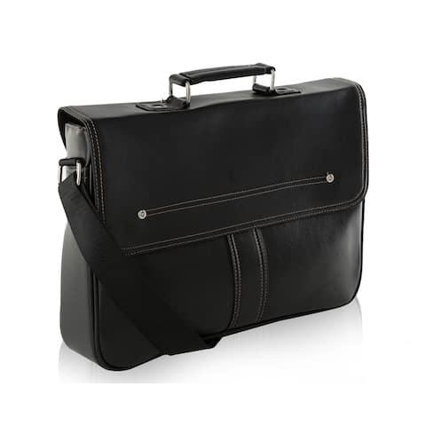 MKF Collection Sean Messenger Laptop Crossbody Bag by Mia K.