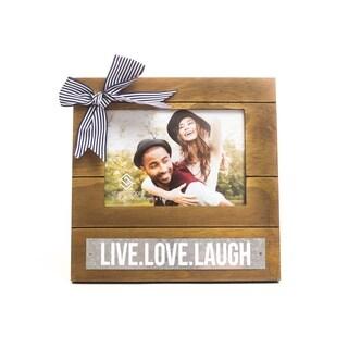 5x7 Live,Love,Laugh Square Photo frame