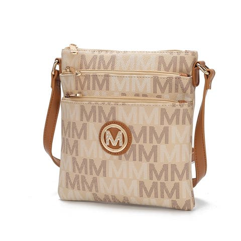 MKF Collection Lemuel M Signature Crossbody Bag by Mia K.