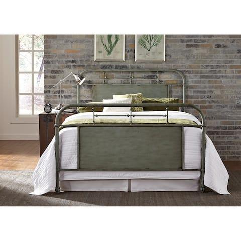 Carbon Loft Cauthen Green King Metal Bed
