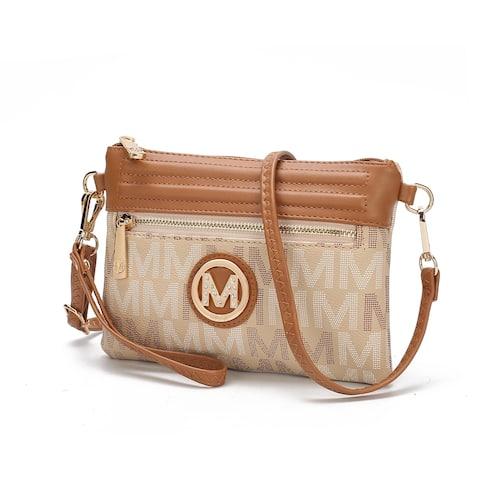 MKF Collection Havana M Signature Crossbody Bag by Mia K.