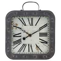 "37006- Westclox 13.75"" Metal Pocket Watch Wall clock"