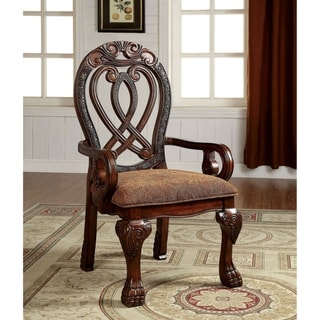 Williams Import Wyndmere Cherry Wood Armchairs (Set of 2)