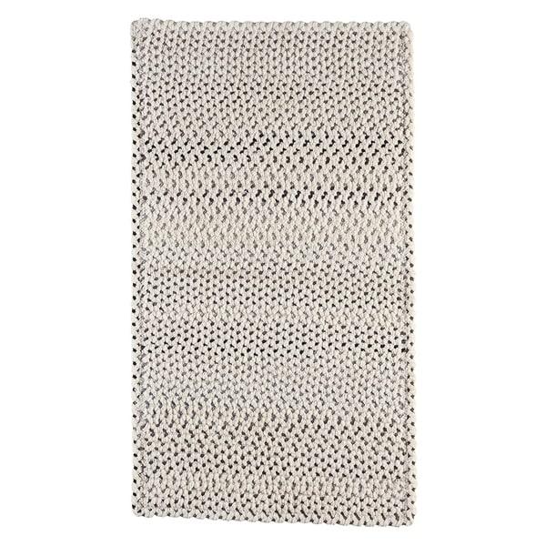Capel Rugs Braided Vivid Steel Grey Nylon Area Rug - 7' x 9' runner