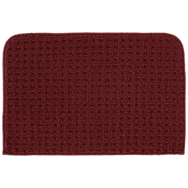 Shop Herald Square Burgundy Kitchen Slice Rug