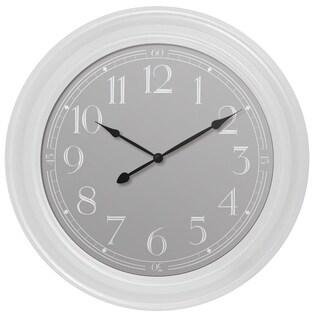"33095W- Westclox 22"" White Wall Clock"