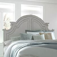 Magnolia Manor Antique White King Panel Headboard