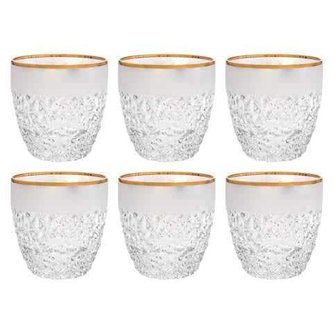 Majestic Gifts Inc. Set of 6 Crystal Tumblers