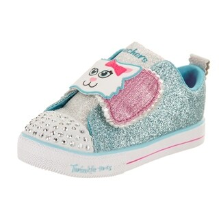 Skechers Toddlers S Lights - Shuffles - Sparkle Pals Casual Shoe