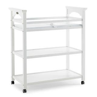 Graco Lauren Nursery Changing Table for Infants or Babies - Includes Water-Resistant Changing Pad and Safety Strap