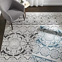 The Curated Nomad Brunwald Medallion Area Rug