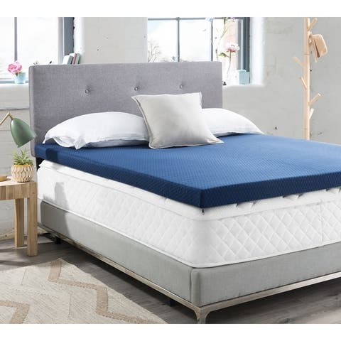 Coma Inducer 3-inch Memory Foam Mattress Topper with Cover
