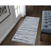 Strick & Bolton Norudde High-low Pile Runner Rug - 2' x 6'