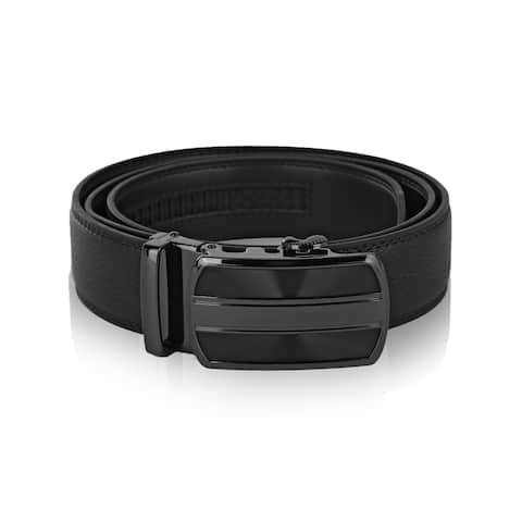 MKF Collection Brye Men's Genuine Leather Belt by Mia K.