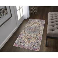 The Curated Nomad Stuhlbarg Medallion Runner - 2' x 6'