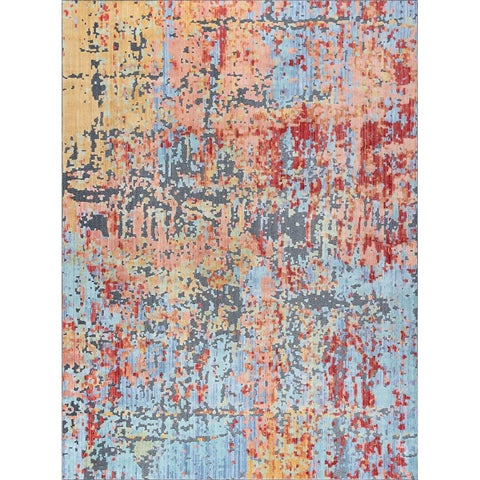 Alise Rugs Harrison Contemporary Abstract Area Rug