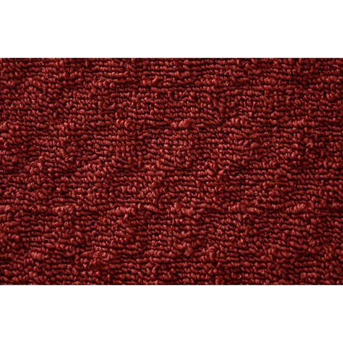 Town Square Chili Red Kitchen Slice Rug