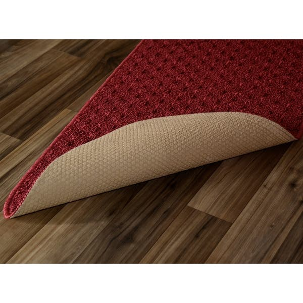 Shop Town Square Chili Red Kitchen Slice Rug - Free Shipping ...