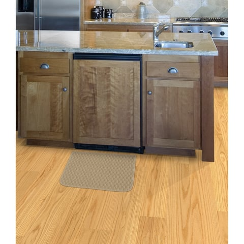 Town Square Tan Kitchen Slice Rug