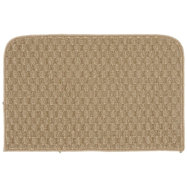 Shop Town Square Tan Kitchen Slice Rug