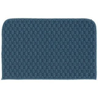 Town Square Sky Blue  Kitchen Slice Rug