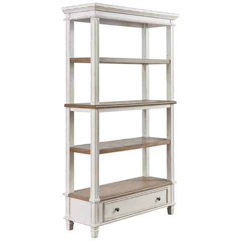Realyn Casual Bookcase Two-tone