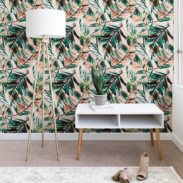 Shop Deny Designs Tropical Peel And Stick Wallpaper 3 Sizes On Sale Overstock 25722292