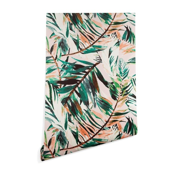 Deny Designs Tropical Peel and Stick Wallpaper- 3 Sizes. Opens flyout.
