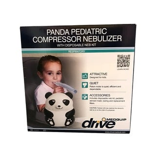 Drive Medical Panda Pediatric Nebulizer, with Disposable Neb Kit