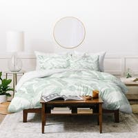 Deny Designs Banana Leaf 3-Piece Duvet Cover Set