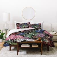 Deny Designs Floral 3-Piece Duvet Cover Set