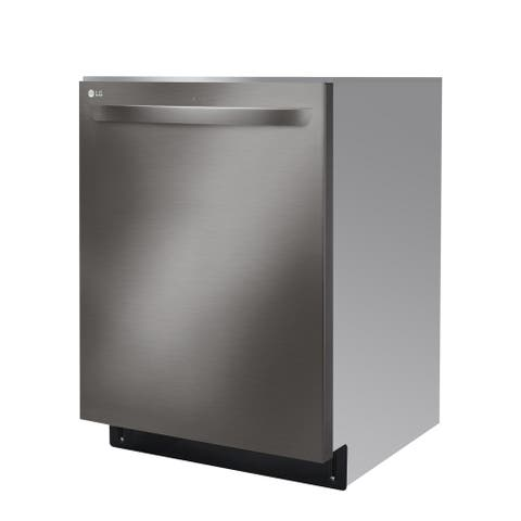 LG LDT5678BD Top Control Smart wi-fi Enabled Dishwasher with QuadWash Black Stainless Steel