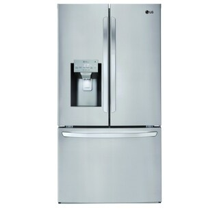"LG LFXS28968S 28 cu.ft. Smart wi-fi Enabled French Door Refrigerator Stainless Steel - 7'10"" x 10'6"""