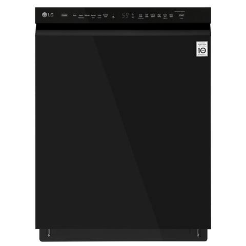 LG LDF5545BB Front Control Dishwasher with QuadWash and EasyRack Plus Smooth Black